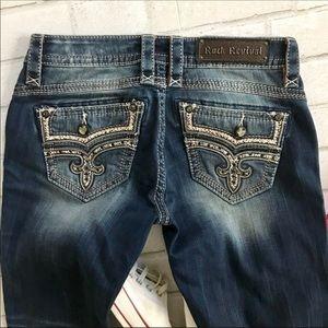 Rock Revival Jeans Embellished Ellor Bootcut